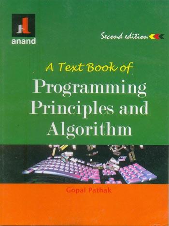 PROGRAMMING PRINCIPLE & ALGORITHM