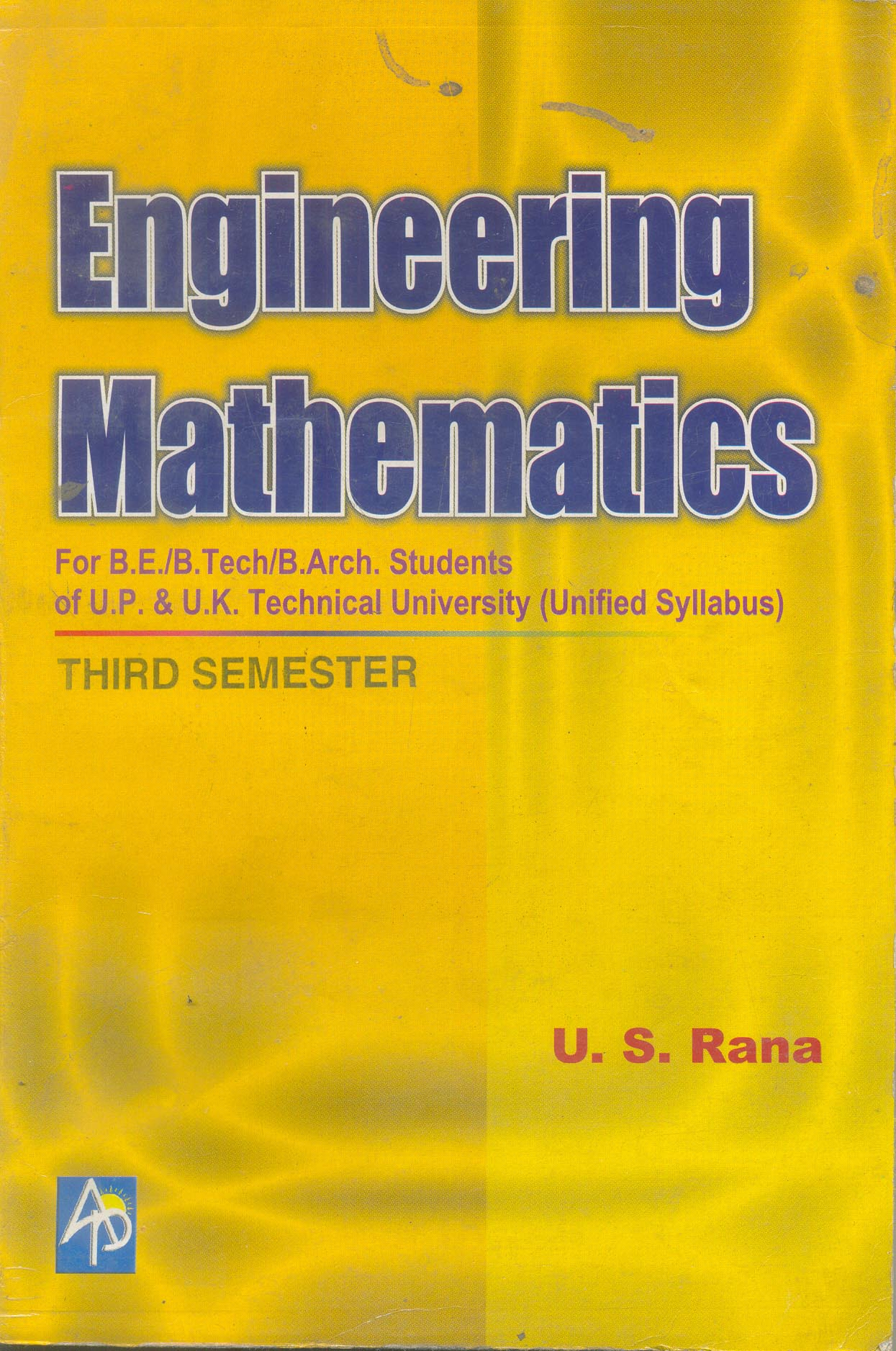 TAS-301 ENGINEERING MATHEMATICS III