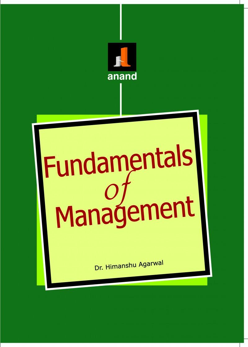 FUNDAMENTALS OF MANAGEMENT