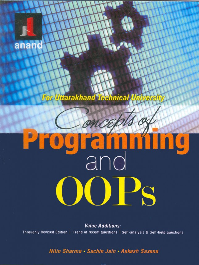 CONCEPTS OF PROGRAMMING AND OOPS